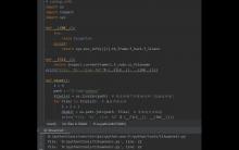 Python中如何确定当前执行行号和文件