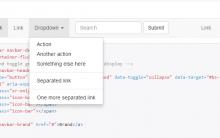 bootstrap中将下拉菜单点击显示改为鼠标滑过显示(转)